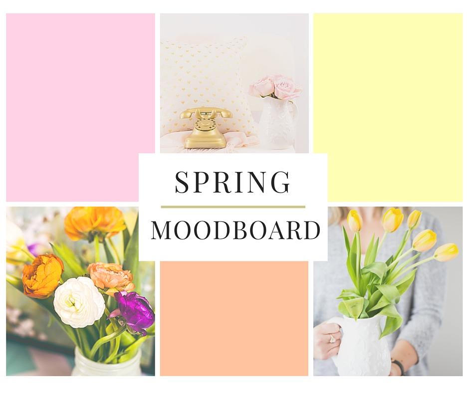 Spring Moodboard l breakawaystrategies.ca
