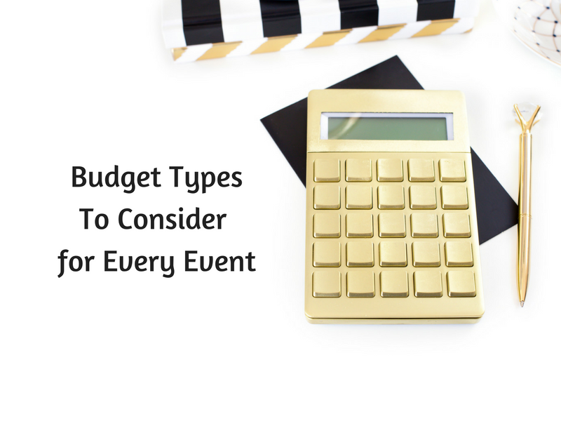 Types of Event Budgets l breakawaystrategies.ca